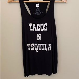 Tacos and tequila tank